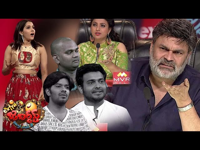 Nagababu & Roja Fires on Sudigali Sudheer Team - Extra Jabardasth - 31st March 2017 Promo