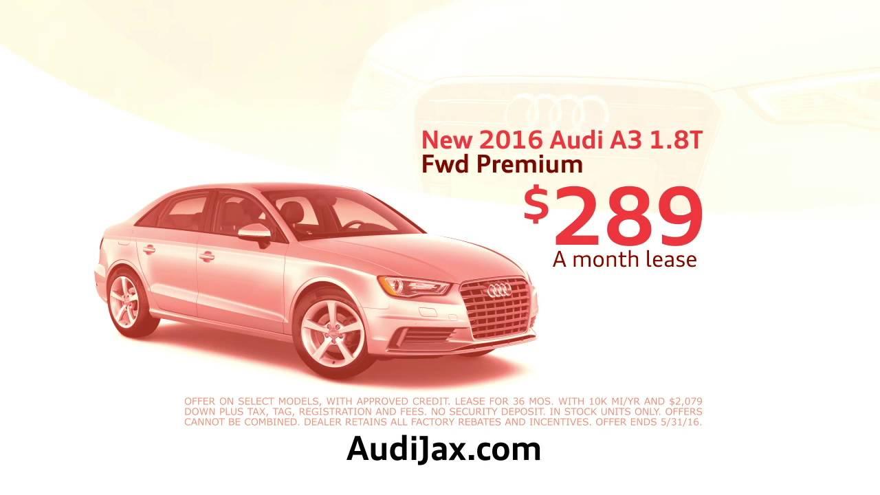 Audi Jacksonville Lease The Audi A T For Month - Audi jacksonville