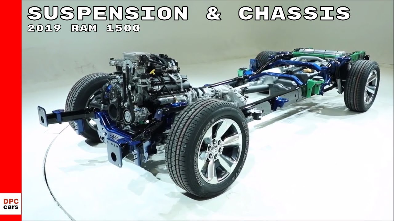 medium resolution of 2019 ram 1500 suspension chassis explained youtube 2009 dodge ram 1500 front suspension diagram dodge 1500 suspension diagram