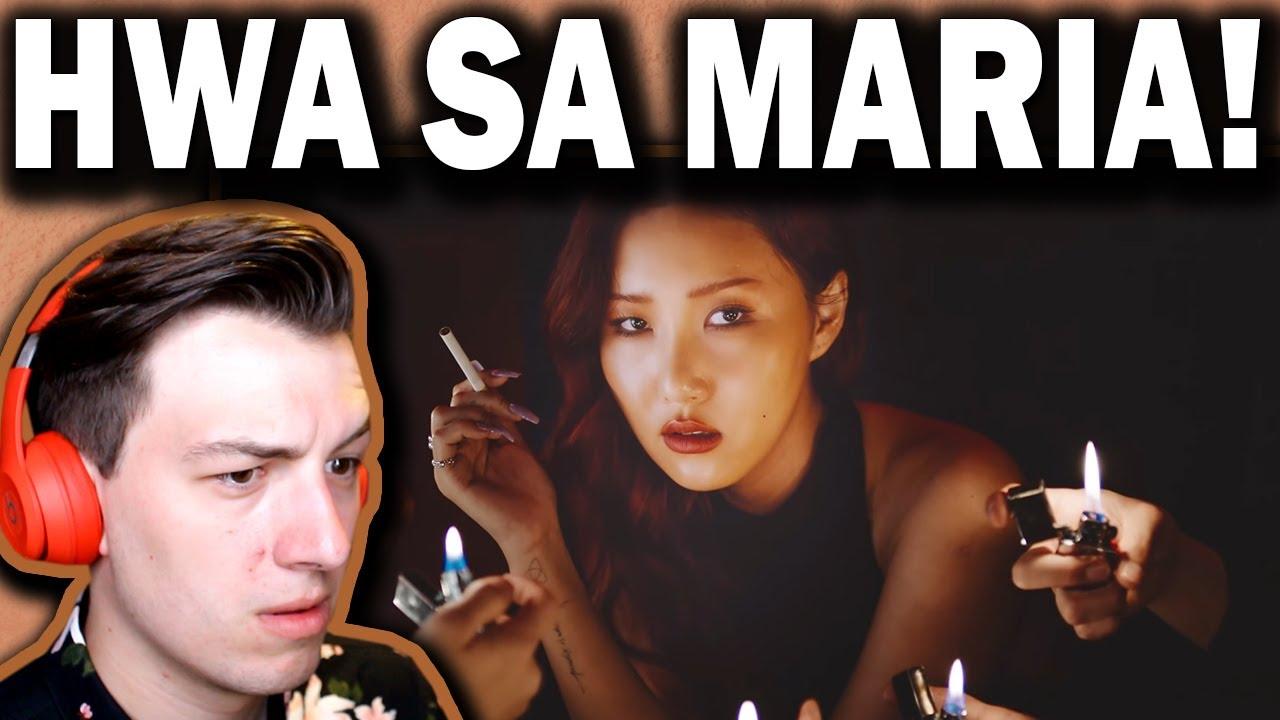 Hwa Sa(화사) _ Maria (마리아) REACTION!