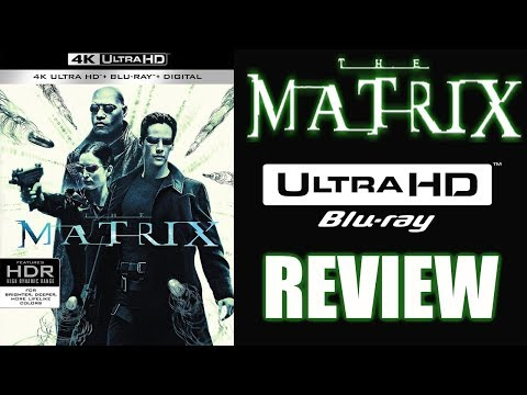THE MATRIX 4K Bluray Review   Dolby Atmos