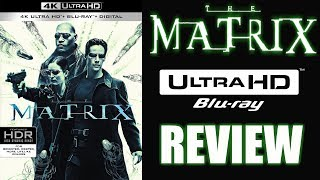 THE MATRIX 4K Bluray Review | The New Reference Standard?