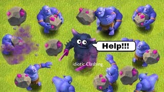 COC Funny Moments, Glitches, Fails, Trolls Compilation | Clash of Clans Montage #33