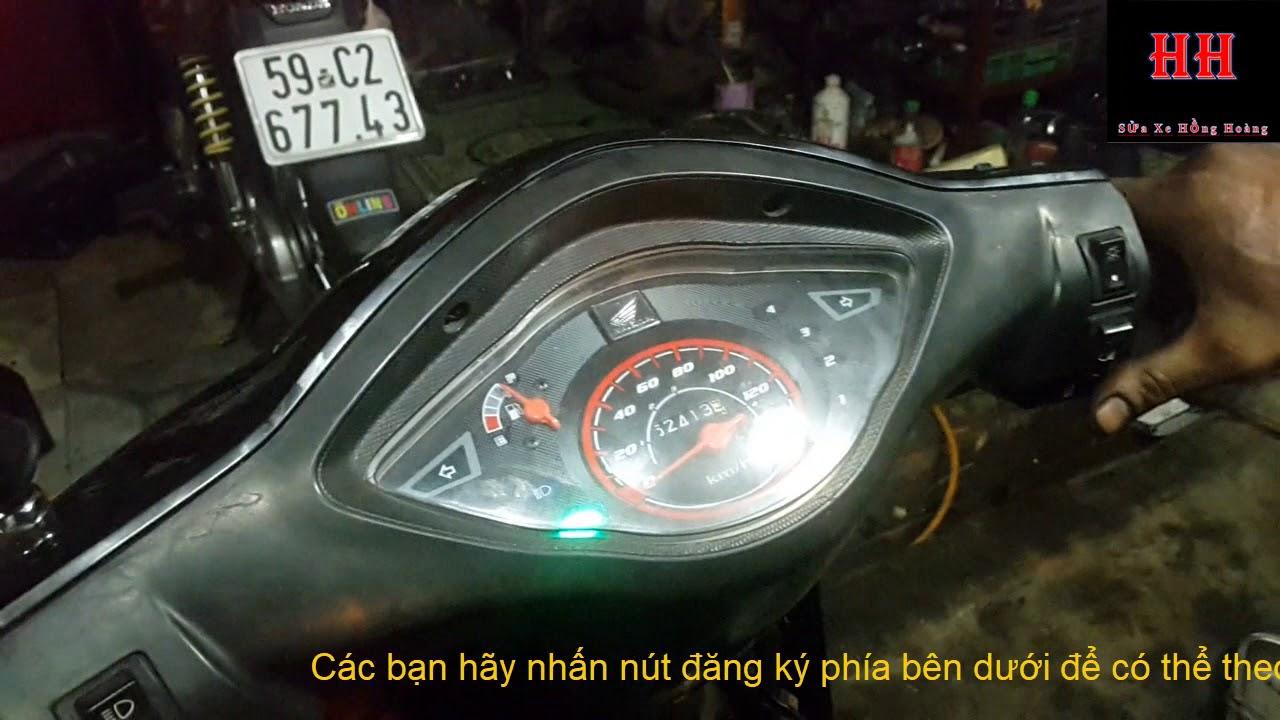 Sửa xe Cùi  Bắp _Giới thiệu câu đèn passing , hazard , còi hú trên xe máy