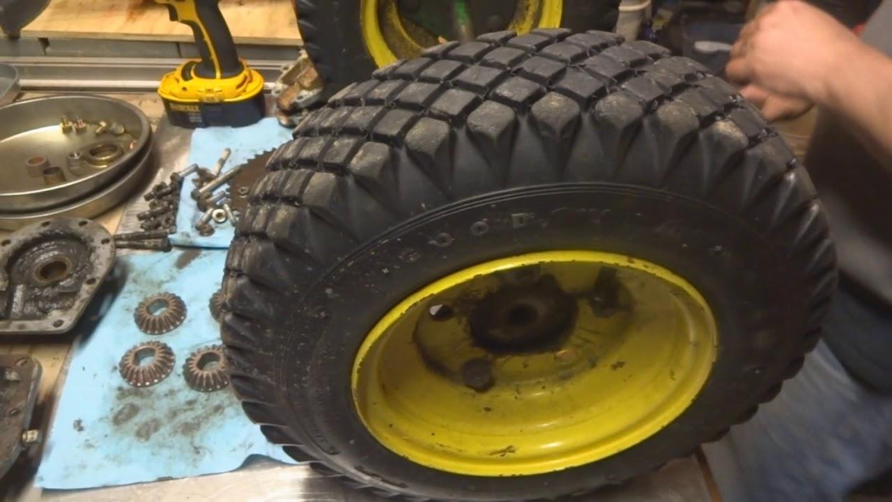 John Deere 826 1032 Snow Thrower Differential Rebuild - Part 3 of 5 ...