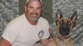 Handler reunites with service dog
