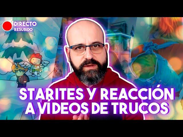 🔴 ESTARITES Y REACCIÓN A VÍDEOS DE TRUCOS | La red de Mario