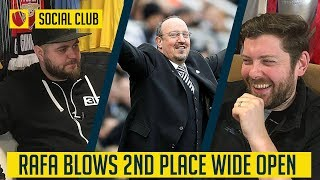 NEWCASTLE UNITED 1-0 MAN UNITED: RAFA BLOWS 2ND PLACE WIDE OPEN | SOCIAL CLUB