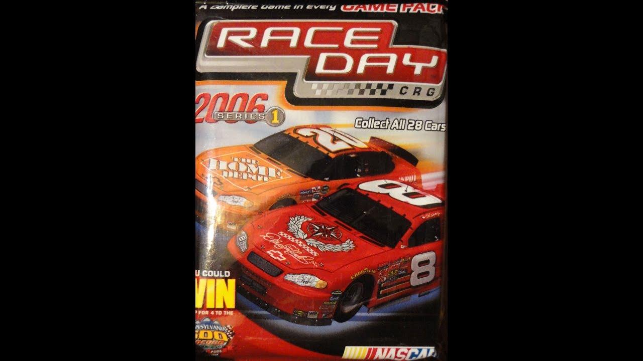 What's Inside - Race Day 2006 CRG Packs (WizKids)