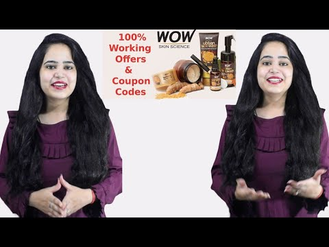 Wow Coupon Code ✅ 2021 | Wow Face Wash ✅ Coupons | Wow Skin Care Products | Buywow Coupon Codes