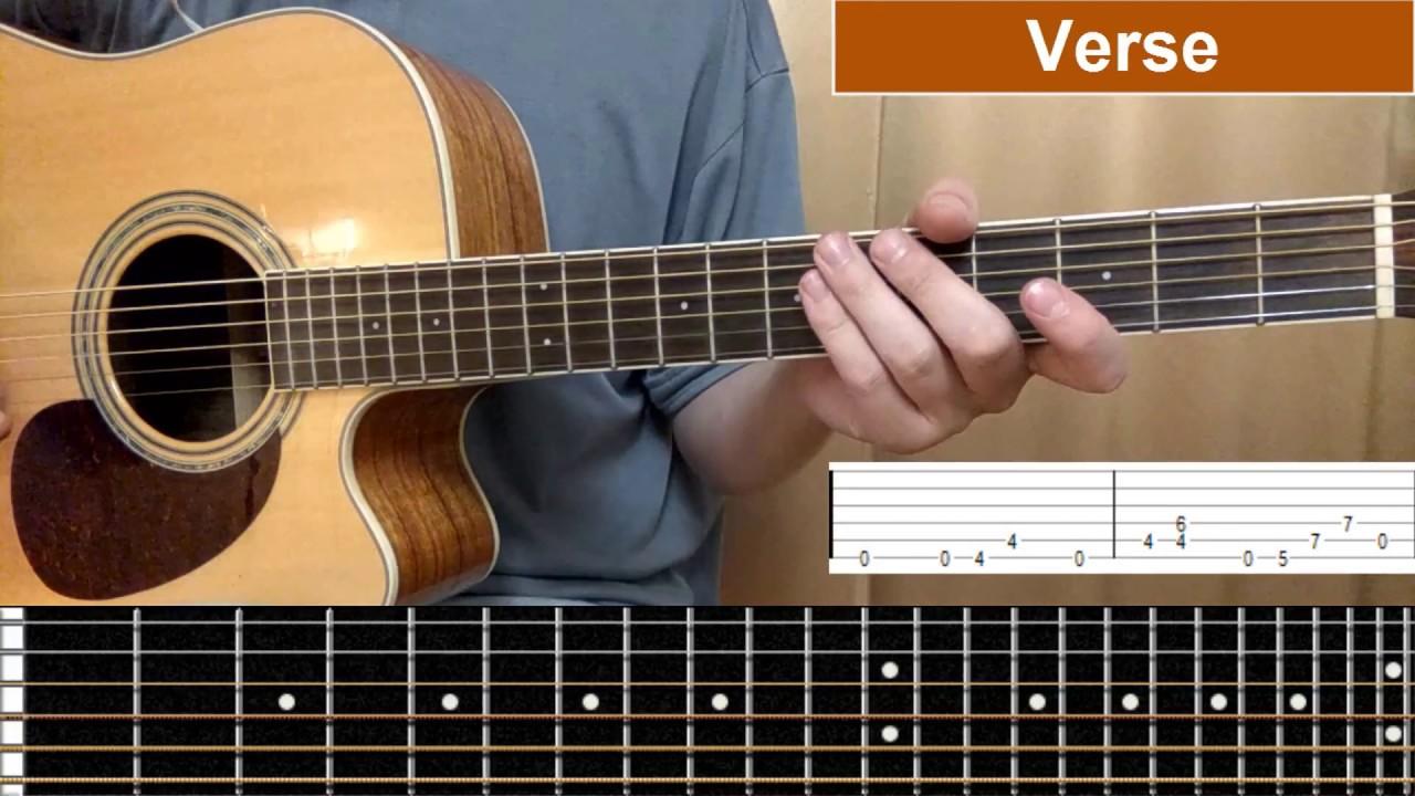 Nirvana Lithium Guitar Tutorial Tabs On Screen Youtube