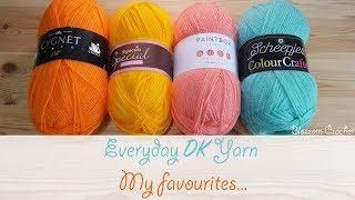 Favourite DK Yarn Comparison: Stylecraft, Paintbox, Cygnet & Scheepjes