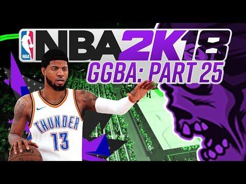 NBA 2K18 'GGBA' Fantasy League - THAT BOUNCE - Part 25 (CUSTOM myLEAGUE)