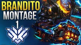 Brandito   1 NA DOOMF ST GOD MONTAGE   Overwatch Montage