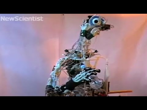 robot with bones moves like you do - youtube, Skeleton