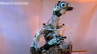 Robot with bones moves like you do