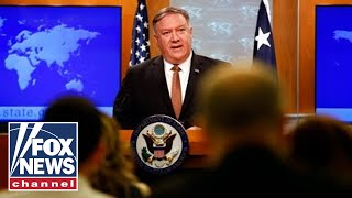 Pompeo announces hardline sanctions on Iranian oil
