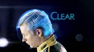 Clear Anti-Dandruff Shampoo Ad starring Kimi Raikkonen