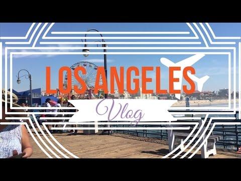 LOS ANGELES VLOG October 2015 (Santa Monica, USC, Rodeo Drive, Fashion District)
