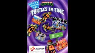 Teenage Mutant Ninja - Turtles  in time - Arcade 1991