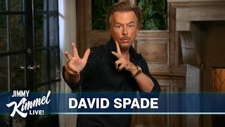David Spade's Guest Host Monologue on Jimmy Kimmel Live