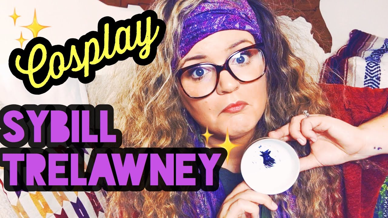 sybill trelawney cosplay harry potter get ready with me youtube