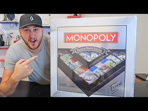 Unboxing Most Expensive Limited Edition Monopoly Game on Amazon