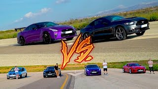 Video de CARRERA DE COCHES DE YOUTUBERS!! NOS ENFRENTAMOS EN UNA DRAG RACE