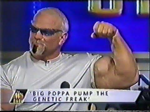 Scott Steiner Flexing on TV - YouTube