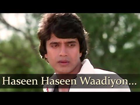 Haseen Haseen Waadiyon Unse Yeh Kaho - Mithun Chakraborthy - Beshaque - Bollywood Old Songs