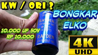 Download Video Bongkar ELKO 10.000 uF 50V | KW / ORI ?? | 2160p / 4K UHD Video MP3 3GP MP4