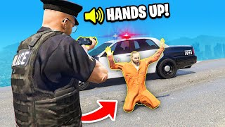 Playing GTA 5 as a POLICE OFFICER! (Play As A Cop Mod)