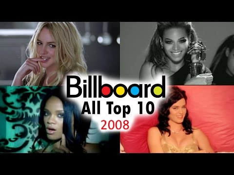 Billboard Hot 100  All Top 10 Singles Which Peaked In 2008