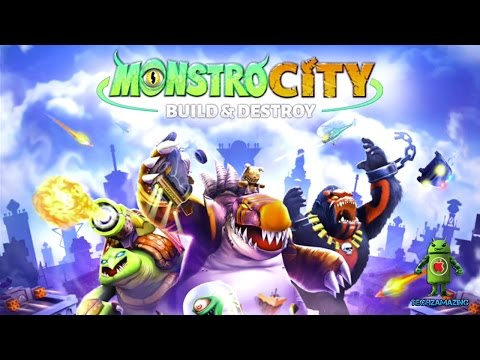 MonstroCity - Build & Destroy (iOS/Android) Gameplay HD