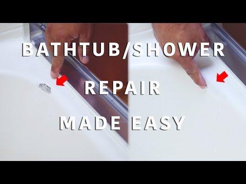 Bathtub Shower Repair Made Easy Youtube