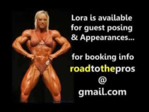 Lora Ottenad   Leg Presses almost a Ton!!