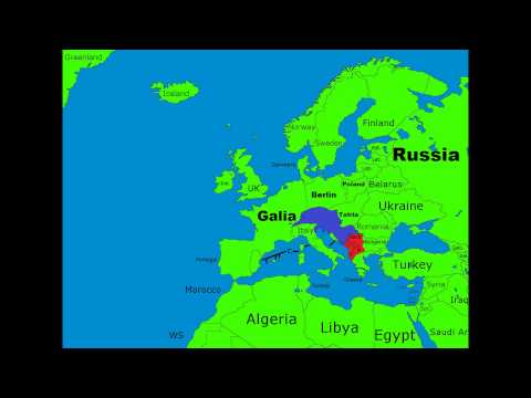 Map of Europe in the future Episode 2 {Great Russia}
