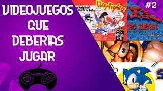Vídeo Juegos de Sega Génesis que deberías jugar.