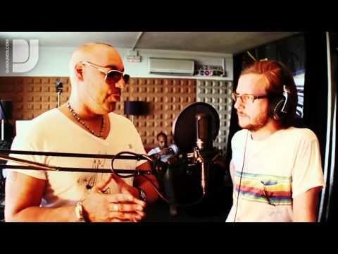 Roger Sanchez - interview at the Sonica Studio in Ibiza for DJsounds
