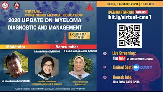 Myeloma is a cancer of the plasma cell, a type of white blood cell that is part of the immune system.