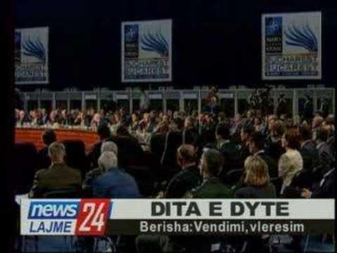 Sali Berisha flet në Samitin e NATO-s