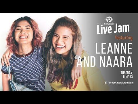 Rappler Live Jam: Leanne and Naara