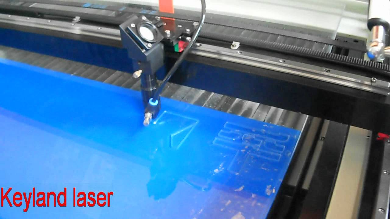 Laser Cutting Machine To Cut Acrylic Letter Youtube