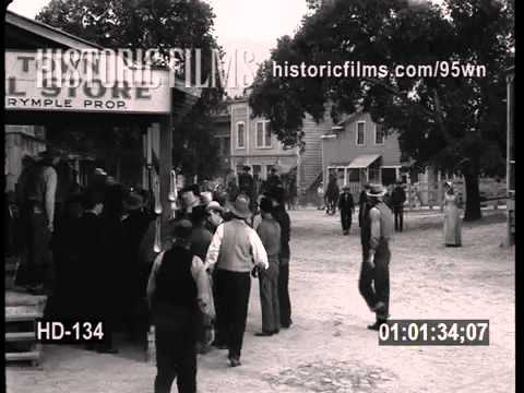 HISTORIC FILMS HD COLLECTION - OLD WEST, COWBOYS