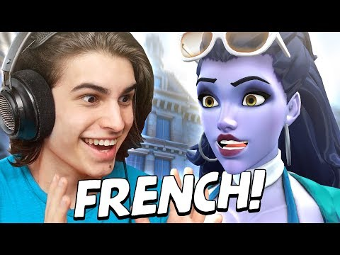Playing Overwatch in FRENCH!?