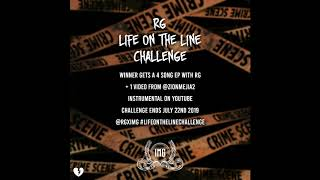 RG x Mozzy & $tupid Young - Life On The Line Challenge (Instrumental)