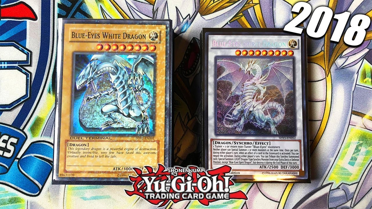 Best Yu Gi Oh Blue Eyes White Dragon Deck Profile 2018 Compeive Going 2nd Lightning