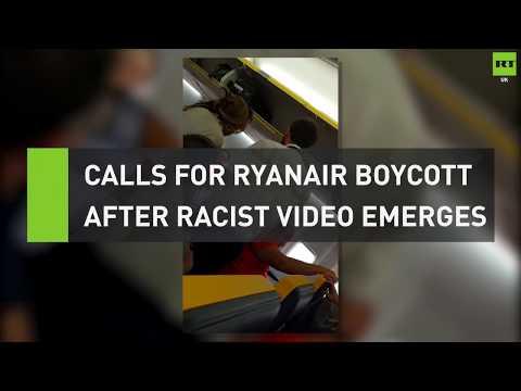 Man launches racist rant on Ryanair flight Mp3