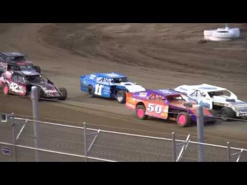 IMCA Sport Mod feature Independence Motor Speedway 6/11/16