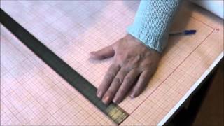 Шитье прямой юбки. Урок 1. Изготовление выкройки